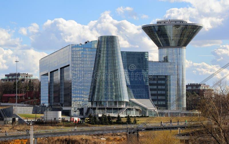 Regerings- hus av Moskvaregionen royaltyfri fotografi