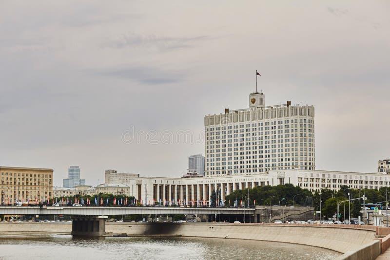 Regerings- hus i Moskva Rysk federation arkivbilder