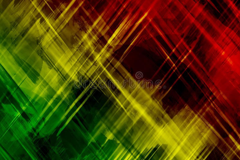 Reggae background abstract stock illustration