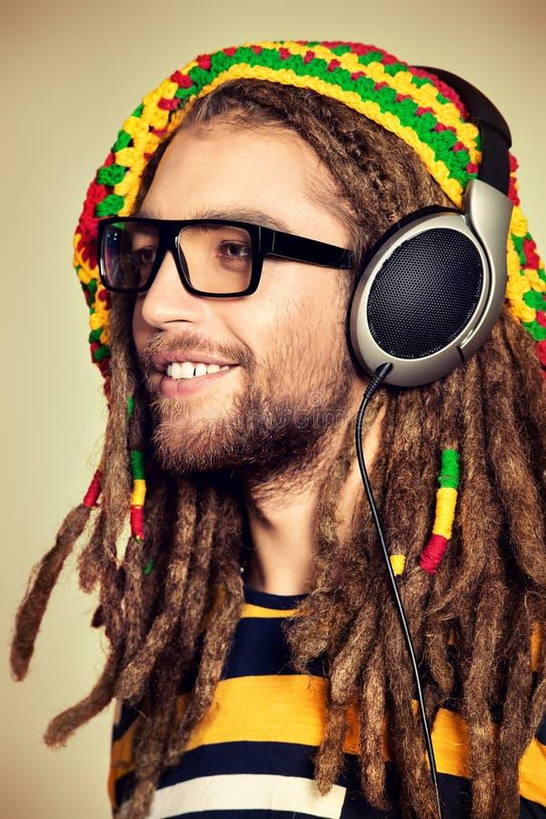Reggae do sorriso imagem de stock royalty free