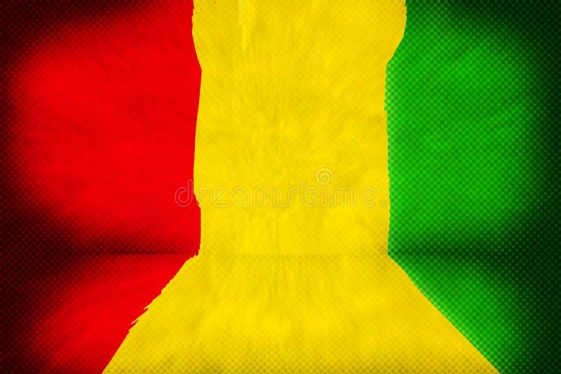 Reggae Stage Background royalty free illustration