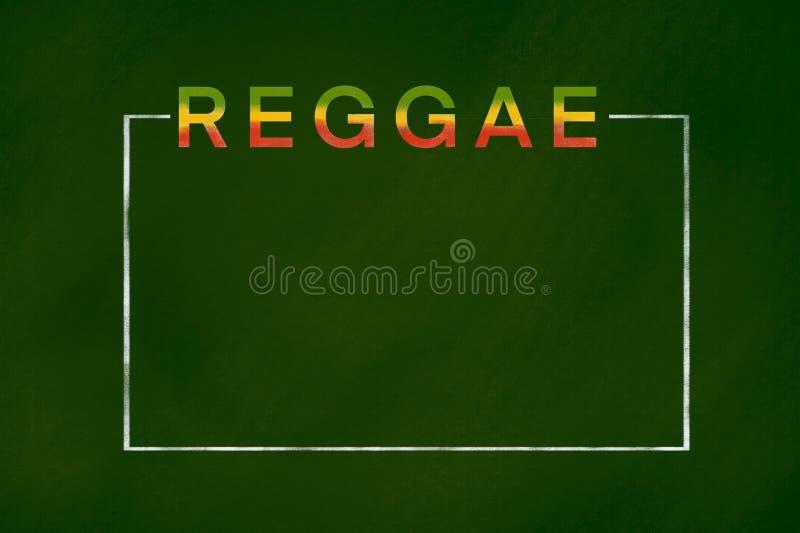 Reggaeachtergrond stock fotografie