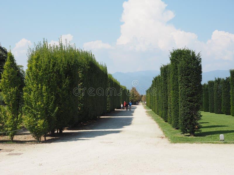 Reggia Di Venaria κήποι σε Venaria στοκ φωτογραφία