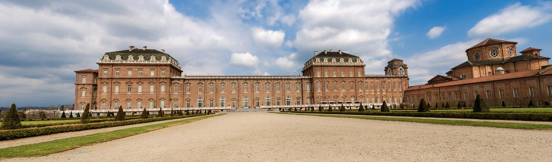 Reggia di Venaria Reale - королевский дворец в Турине Италии стоковые фото