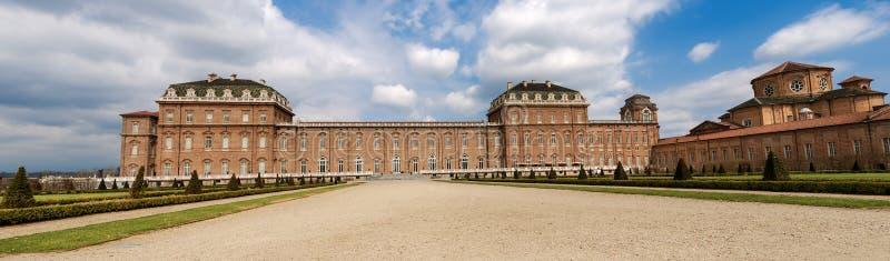 Reggia di Venaria Reale - palacio real en Turín Italia fotos de archivo
