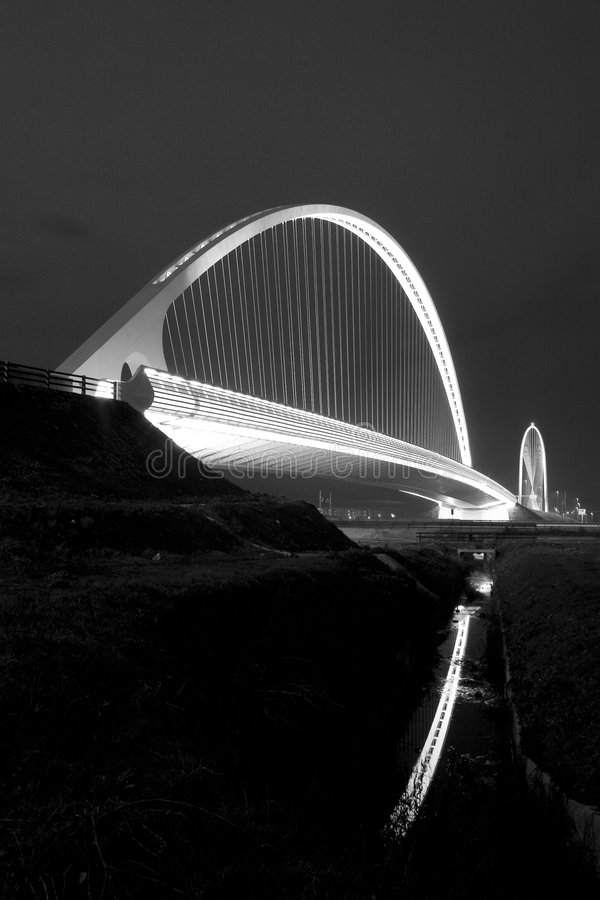 reggio emilia calatrava стоковое фото