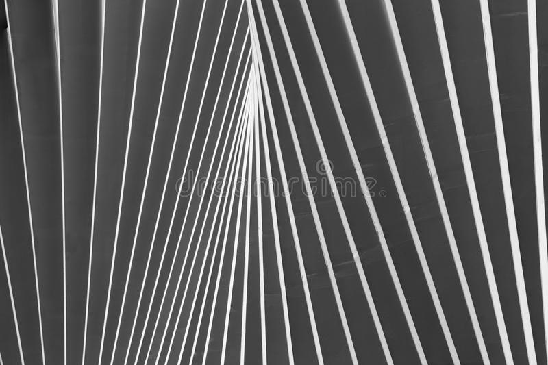 REGGIO EMILIA, ITALY - APRIL 13, 2018: The Reggio Emilia AV Mediopadana railway station by architect Santiago Calatrava.  royalty free stock photography