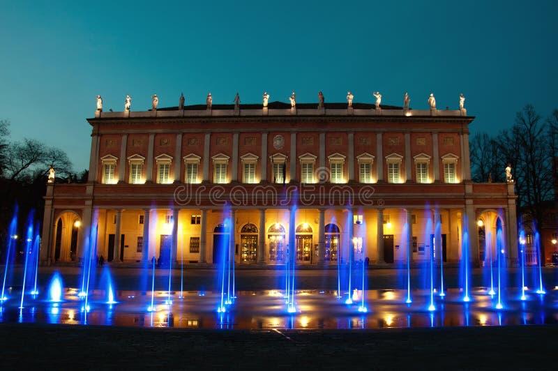 Reggio Emilia - Municipal Theater Royalty Free Stock Photos