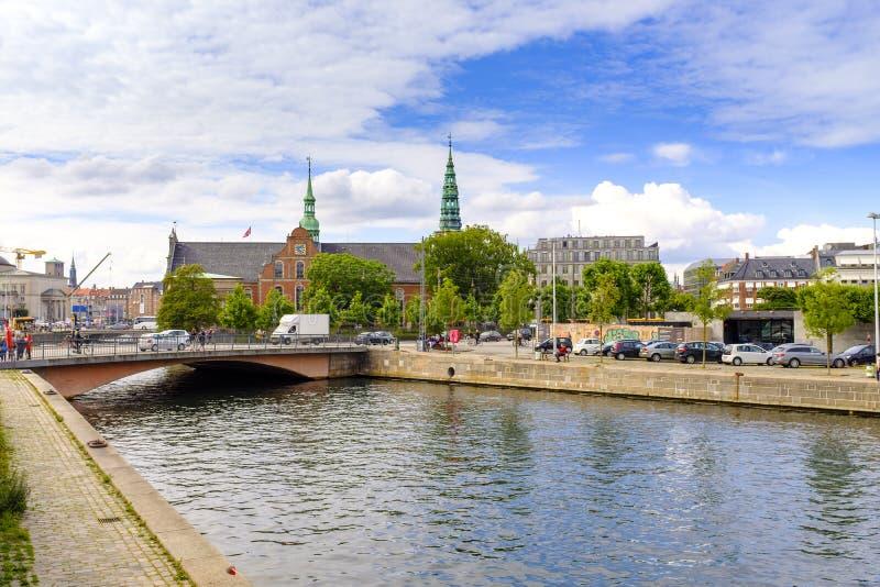 Região de Denamrk - de Zealand - Copenhaga - igreja do renascimento de Ho fotos de stock royalty free