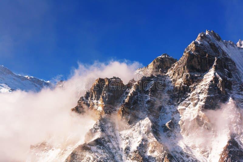 Região de Kanchenjunga fotos de stock