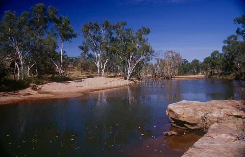 A região de Kimberley de Austrália Ocidental foto de stock