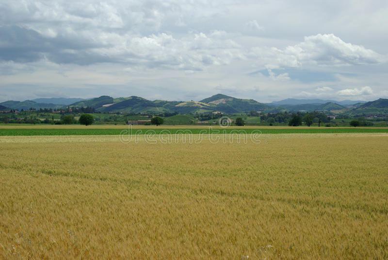 Região de Lombardy de Italy imagens de stock