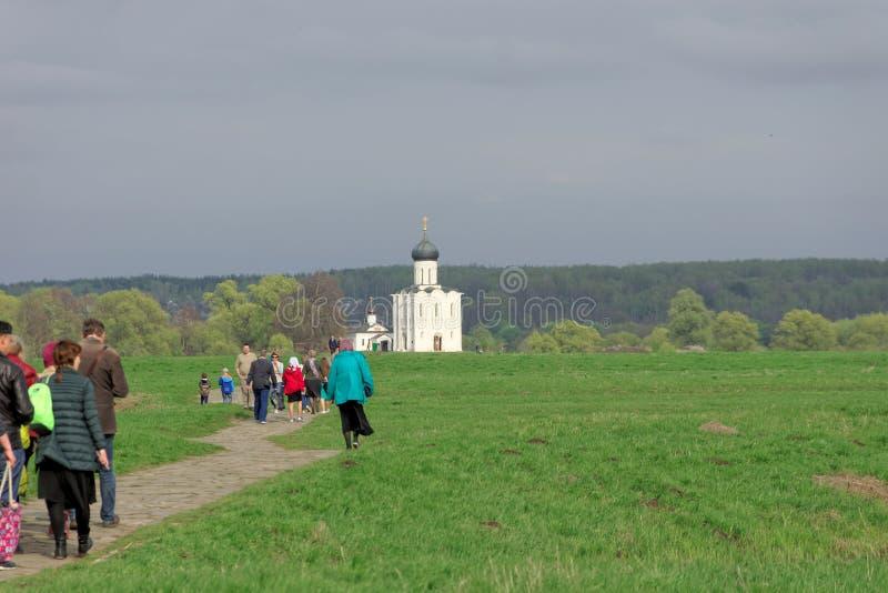 Região de Vladimir, Rússia - 6 de maio 2018  fotografia de stock