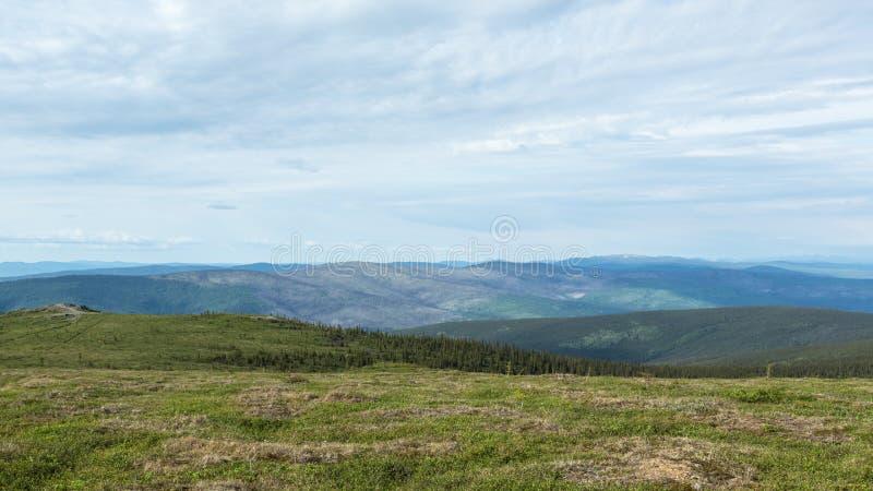 A região selvagem de Alaska interior fotografia de stock royalty free