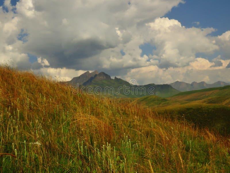 A região selvagem de Drakensberg fotografia de stock