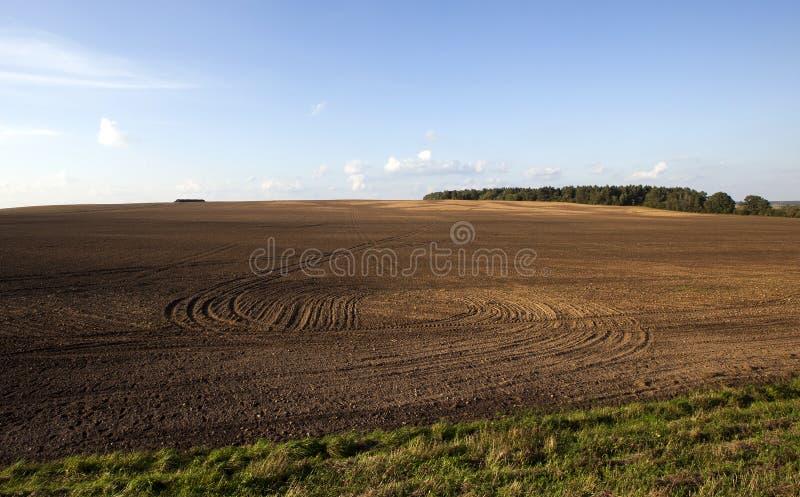 Región agrícola arada fotos de archivo libres de regalías