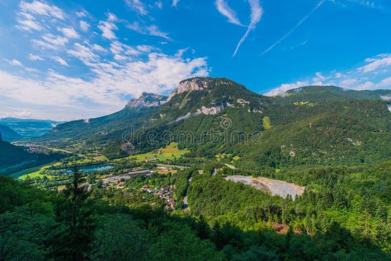 Región de Auvergne Rhone Alpes imagenes de archivo