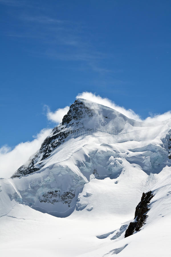 Región de Jungfrau fotos de archivo libres de regalías