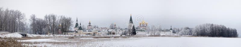 Región de Novgorod del monasterio de Valday Iversky foto de archivo