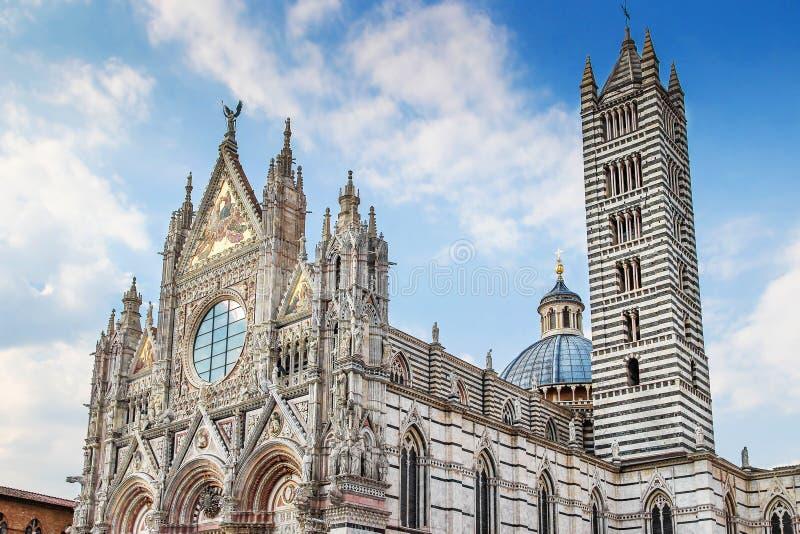 Región de Siena, Toscana, Italia fotografía de archivo libre de regalías