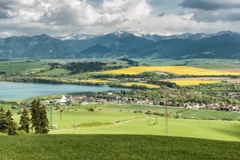 Región Liptov, Eslovaquia fotos de archivo libres de regalías