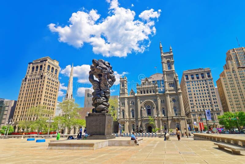 Regierung der Leute und des Freimaurertempels in Philadelphia stockbilder