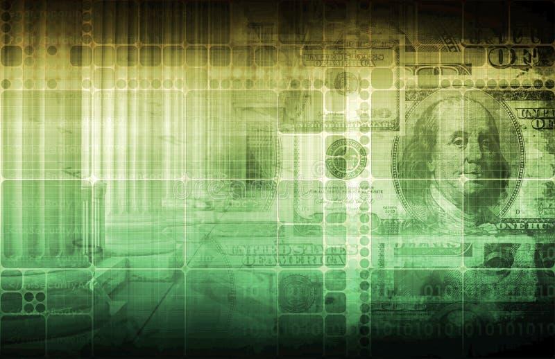 Regierung und Wirtschaftlichkeit lizenzfreie abbildung