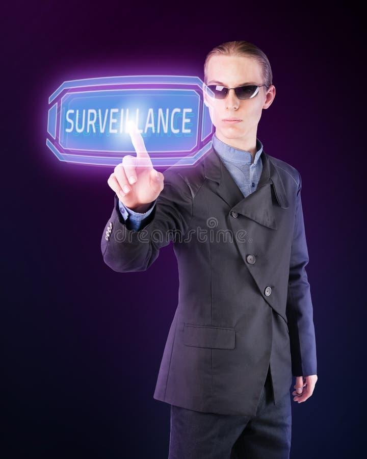 Regierungs-Überwachung stockbild