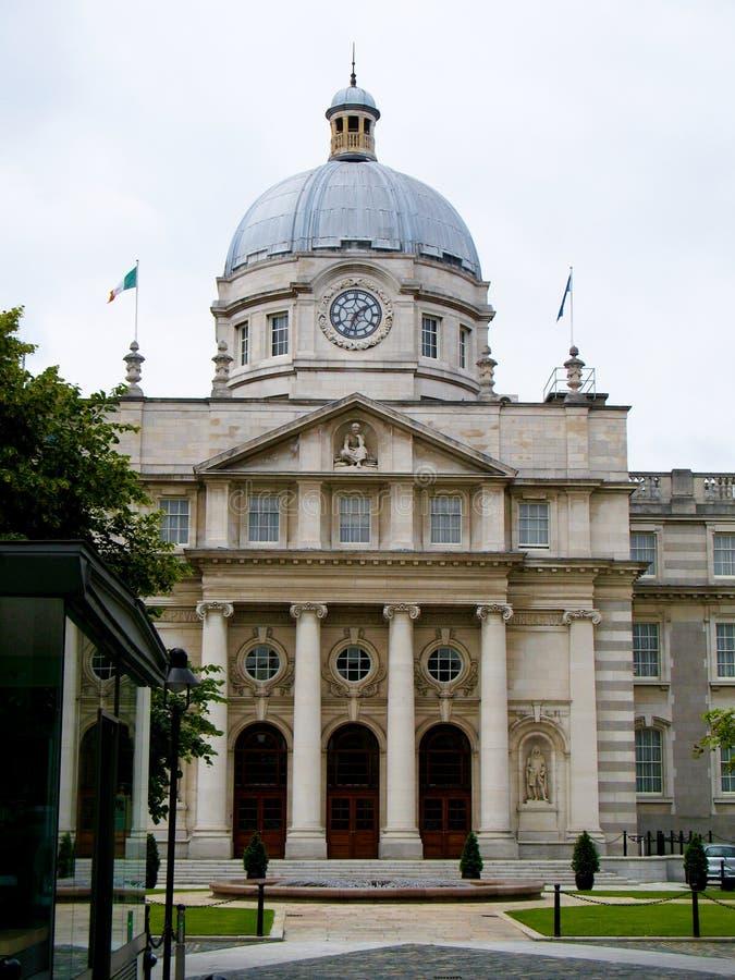 Regierungs-Gebäude, Dublin stockfoto