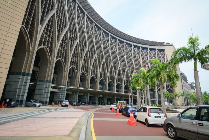 Regierungs-Gebäude in Kuala Lumpur, Malaysia lizenzfreies stockbild