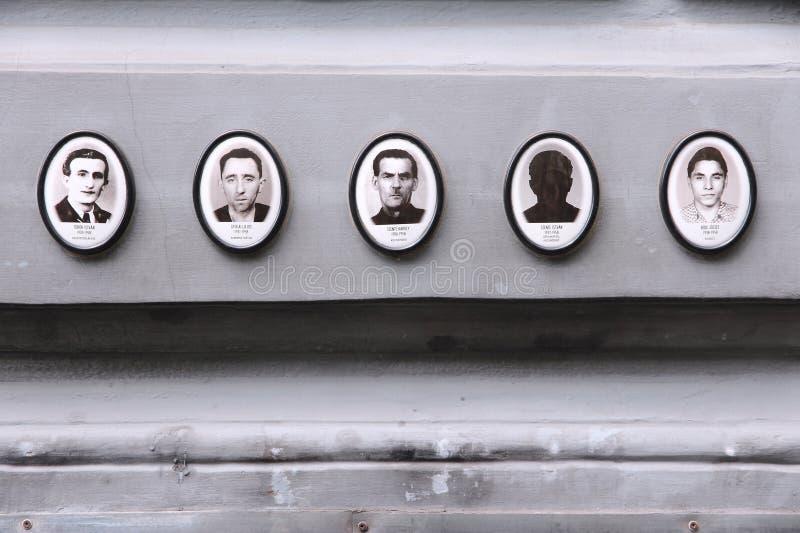 Regimeslachtoffers royalty-vrije stock fotografie