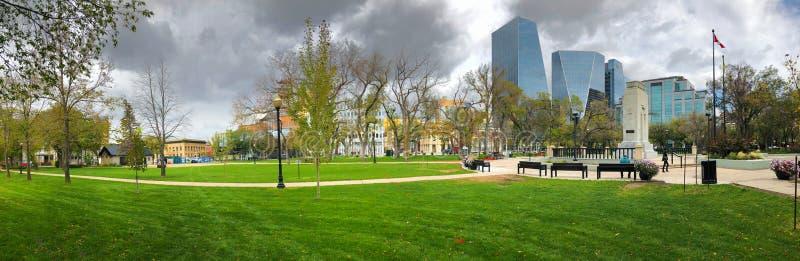 Regina (Canada) Panorama du centre-ville photographie stock