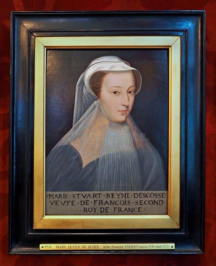 Regina della Mary di scozzese fotografia stock libera da diritti