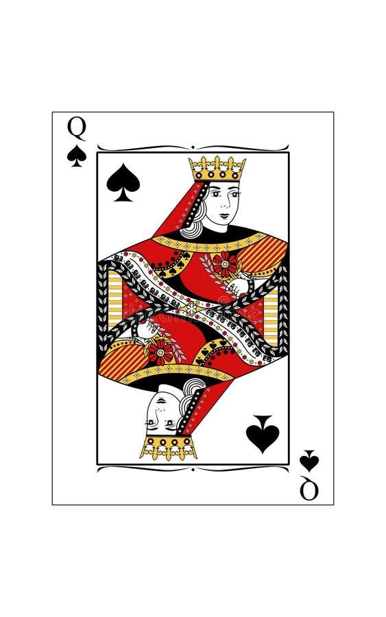 Regina delle forcelle royalty illustrazione gratis
