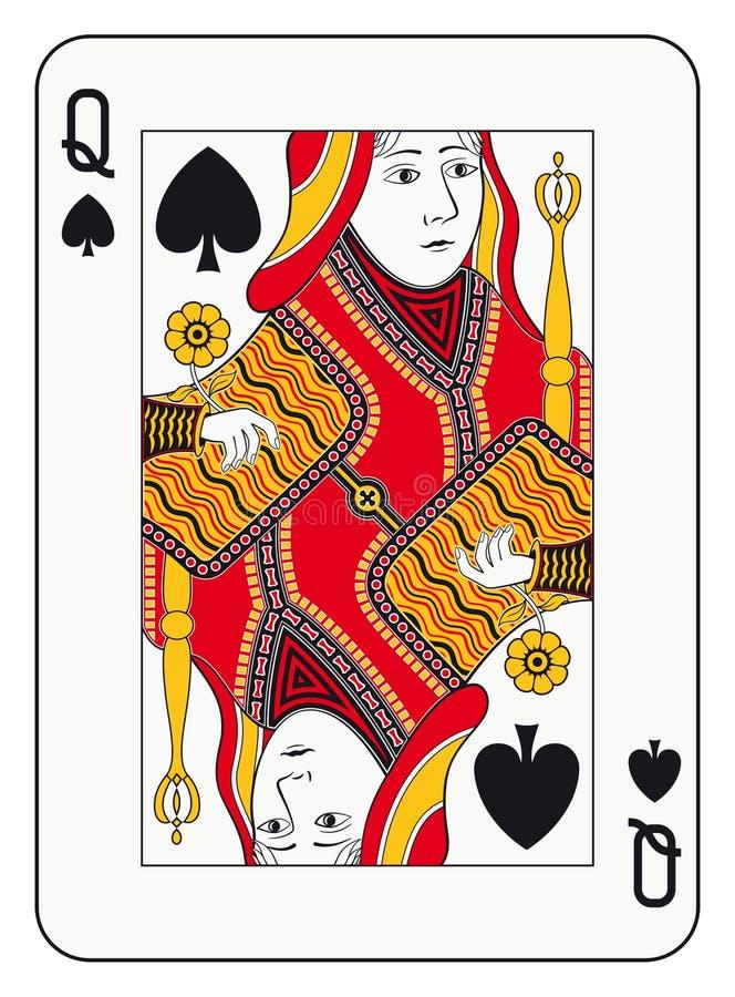 Regina delle forcelle illustrazione di stock