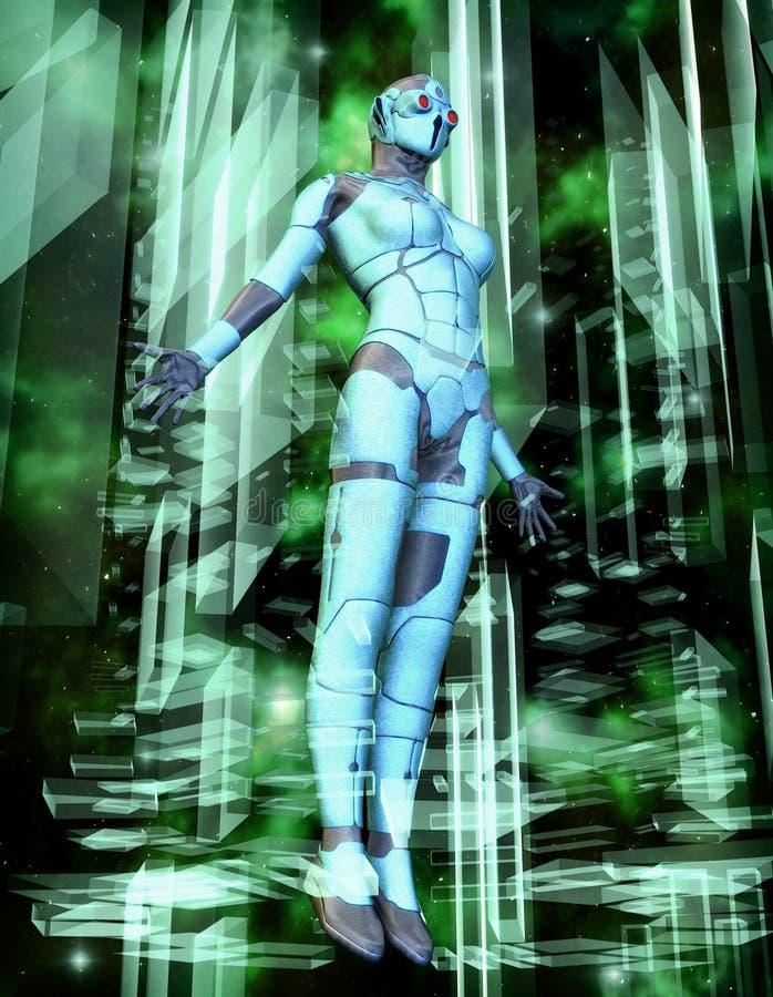 Regina di Cyber royalty illustrazione gratis