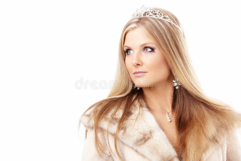 Regina di inverno fotografie stock