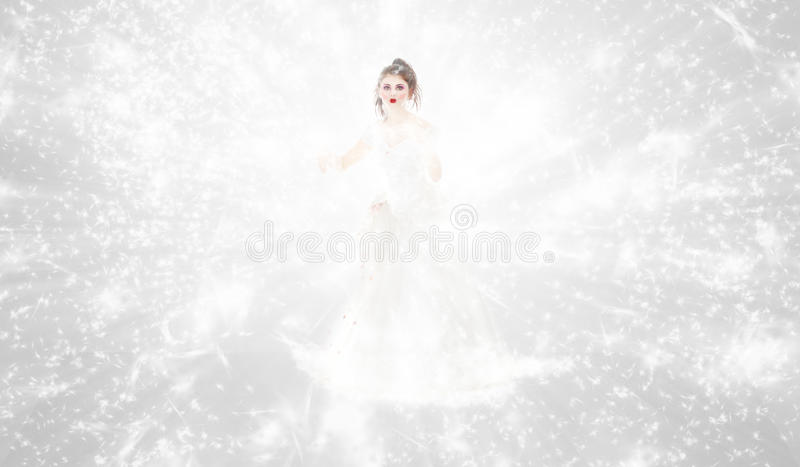 Regina di inverno immagini stock