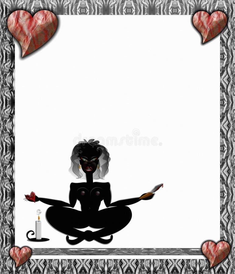 Download Regina di voodoo illustrazione di stock. Illustrazione di candlelight - 3893467