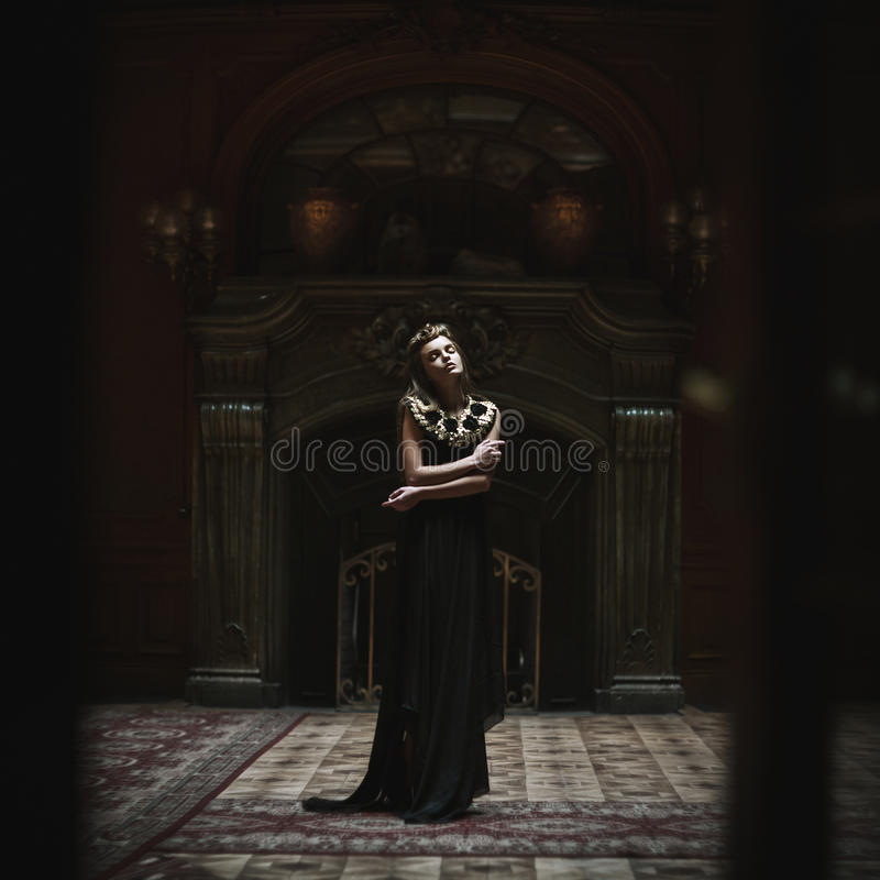 Regina. Donne di modo fotografie stock