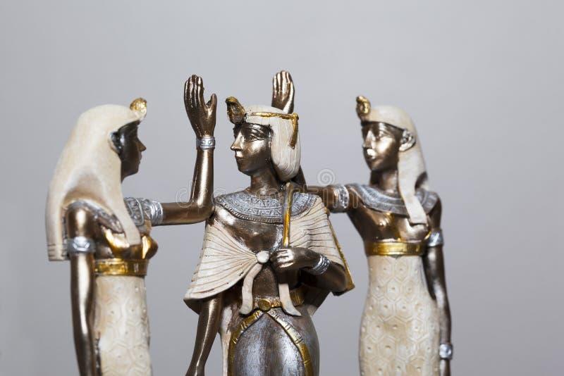 Regina egiziana fotografie stock