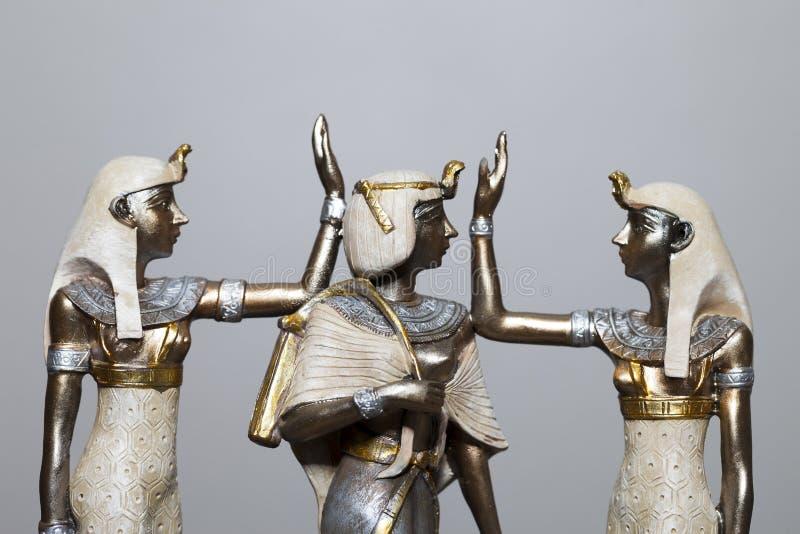 Regina egiziana immagini stock