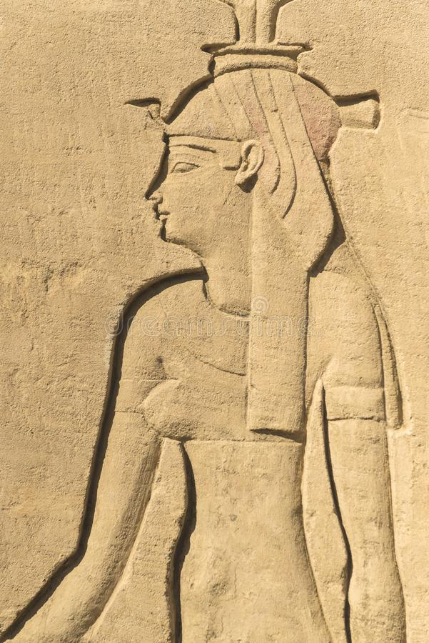 Regina egiziana di faraone fotografia stock libera da diritti