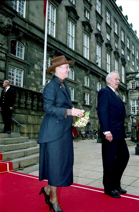 Regina Margrethe della Danimarca immagine stock libera da diritti