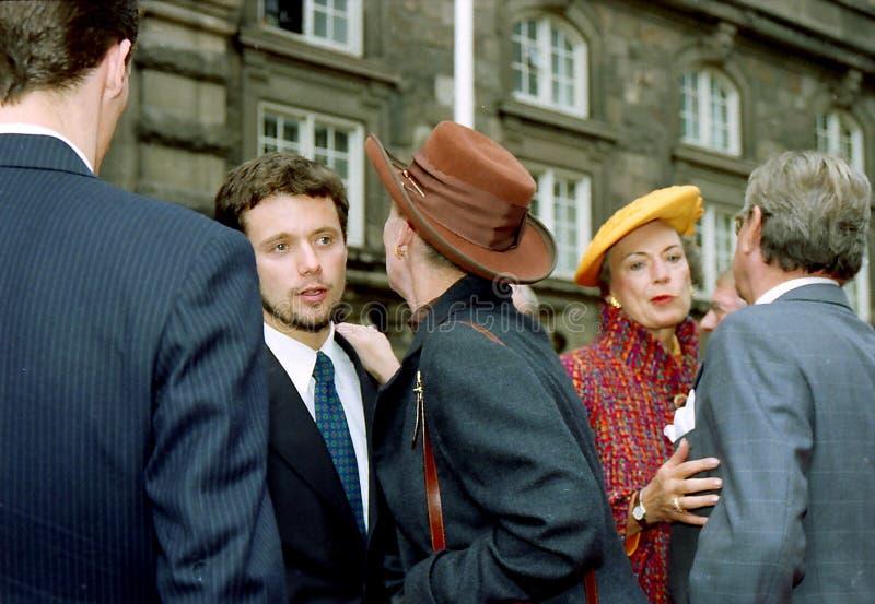 Regina Margrethe della Danimarca fotografie stock libere da diritti