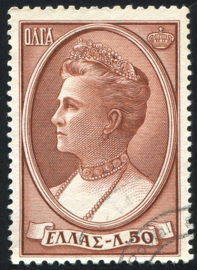 Regina Olga immagine stock