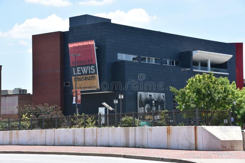 Reginald F Lewis Museum imagens de stock royalty free