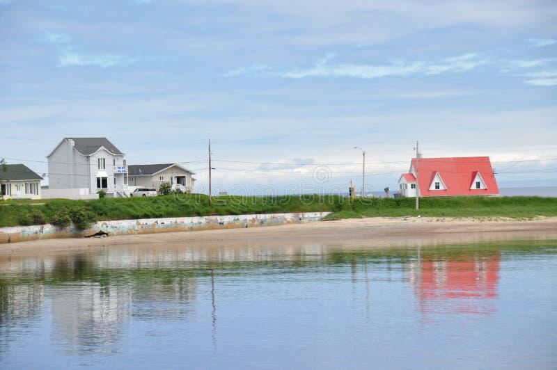 Region av Charlevoix, Quebec, Kanada arkivfoton