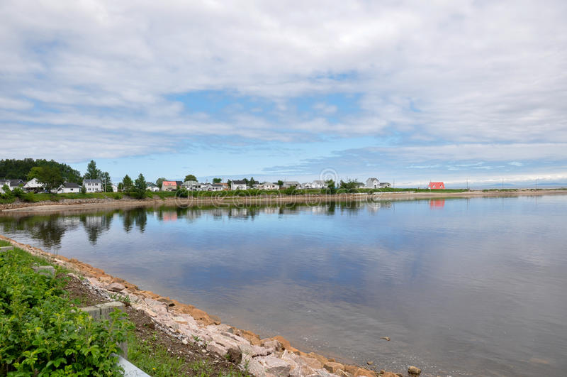 Region av Charlevoix, Quebec, Kanada royaltyfri fotografi