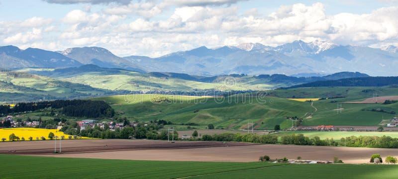 Region Liptov, Slovakia stock images